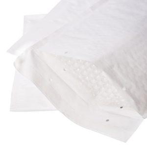 pochette bulle papier blanc