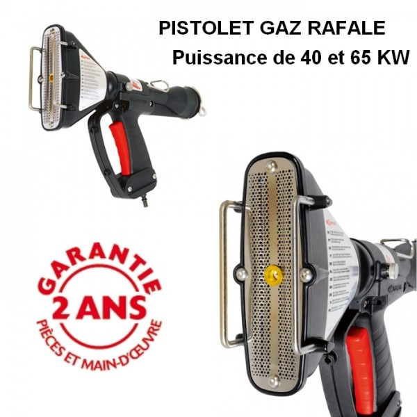 Pistolet de rétraction Rafale